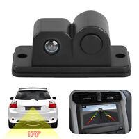2 in 1 Night Vision Radar CCD Autos Reversing Rearview Backup Parking Camera Kit