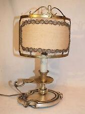 Lampe Bougeoir a Main à Ecran Bronze Qualité Top! type Bouillotte