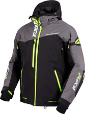 FXR Renegade X Snowmobile Jacket Black/Charcoal/Hi-Vis Large