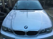 BMW 3 SERIES 318i 2004 Convertible Breaking Recycled Parts. Bonnet Silver