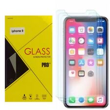 For iPhone 8 Tempered GLASS Screen Protector Bubble Free