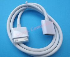 Dock Extension Cable for iPhone 3 4 4S iPad iPod Adapter Support HDMI A/V Audio