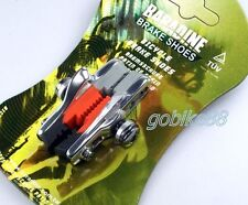 gobike88 BARADINE 3 in 1 brake shoes + pads for Road bike, Silver, 228