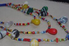 collier peul perle de troc bohème 1850/1920 afrique ethnique trade beads