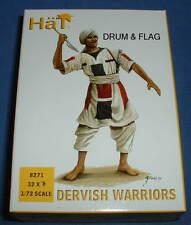 HAT 8271 DERVISH WARRIORS. SUDANESE. 1/72 SCALE. 32 UNPAINTED PLASTIC FIGURES