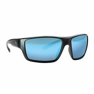 Magpul Terrain Polarized Black Frame Blue Mirror Lens Sunglasses ~ New