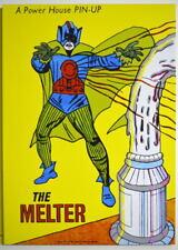 POWER PIN-UP Print - The MELTER Vintage Art Marvel UK Distribution Iron Man