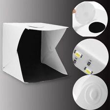 Photo Photography Studio Lighting Portable LED Light Tent Kit Box Folding 12inch