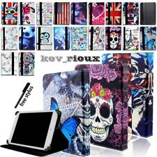 """Universal Leather Stand Folio Cover Case For Various 7"""" 8"""" 10"""" Tablet"""