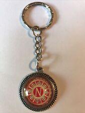 Porte clefs métal acier medaillon Blason Napoléon Corse Ajaccio Empereur