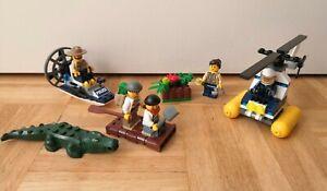 Lego Swamp Police sets 60066 Starter 30311 Helicopter   Thames Hospice