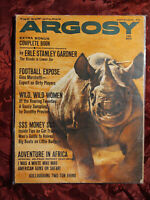 ARGOSY September 1961 Sept Sep 61 HATARI DOROTHY PROVINE ERLE STANLEY GARDNER