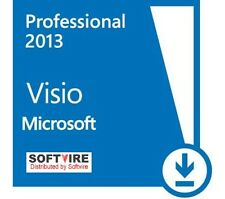 Visio Professional Pro 2013 32 / 64 bit Product License Key
