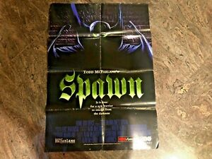1997 Spawn HBO Animation Todd McFarlane 27 x 39 Movie Poster