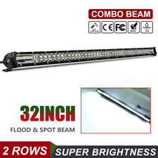 32 zoll Offroad LED Arbeitslicht Dual Row Driving led lightbar Flood Spot Combo