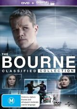 The BOURNE : Identity + Supremacy + Ultimatum + Legacy : NEW DVD
