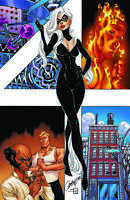 Black Cat 4 Marvel J Scott Campbell Virgin Variant Fantastic Four Spider-Man