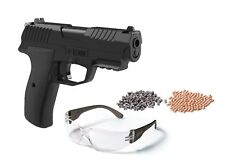 Crosman Iceman CO2 BB/Pellet Air Pistol Kit with BBs Pellets & Safety Glasses