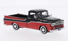 NEO 44842 - Dodge Pick up rouge/noir - 1959    1/43