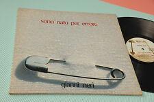 GIANNI NERI LP SONO NATO PER ERRORE 1°ST ORIG ITALY PROG 1977 NM ! GATEFOLD COVE