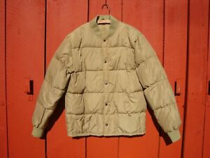 CABELAS - WATERFOWL DOWN - PUFFER COAT AND PANTS - BASELAYER - LINER - LG