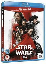 Star Wars: Episode 8 VIII - The Last Jedi [3D Blu-ray Region Free Kylo Ren] NEW