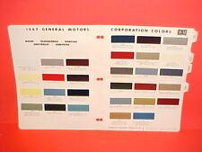 1967 PONTIAC FIREBIRD LEMANS GTO GRAND PRIX CONVERTIBLE BONNEVILLE PAINT CHIPS
