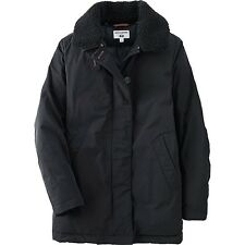 UNIQLO Ines de la Fressange IDLF Down Puffer Parka Jacket in Navy Black M