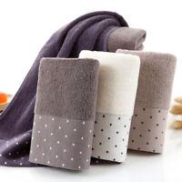 doux coton antibactérien douche. serviette de bain absorbant la masse sèche