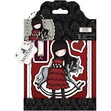 Docrafts urban rubber stamp set Santoro/'s Gorjuss Tweed The Friendly Hedgehog
