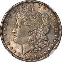 1880-P Morgan Silver Dollar NGC MS61 Nice Eye Appeal Nice Strike
