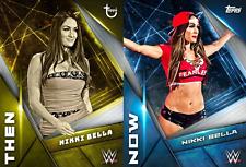 Topps WWE SLAM Card Trader THEN & NOW Nikki Bella Digital Card