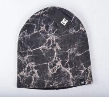 2017 NWT MENS DC MARBS SNOW BEANIE $24 O/S black marble print