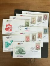 BELGIUM 1972 set of 9 FDC's Belgica 72 stamp exhibition