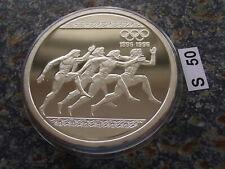 Griechenland 1000 Drachmen 1996 PP Olympiade Atlanta Läufer Stadion Athen 1 oz