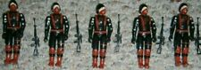 Gi Joe Black Major custom Cobra Soldiers lot of 5