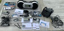 Sirius Sportster Boom Box Sp-B1a With Accessories, Manuals, Car Dock & Antenna