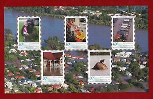 2011 Australia Supporting the Premier's Flood Relief Appeal MUH Stamps