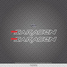01293 Saracen Bicycle Stickers - Decals - Transfers