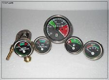 Massey Ferguson Tachometer + Temp + Oil (Male) + Volt + Fuel