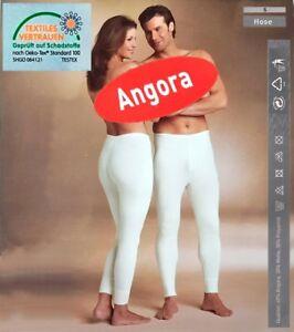Angora Unterwäsche - Hose lang - für Damen und Herren / Größe S
