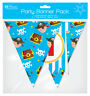 Children's Birthday Party Banner Pack - Boy's Pirate Flag & Bunting