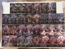 2015 Topps Fire Metal Complete Set 30 Barry Sanders, John Elway etc All #'d 5/49