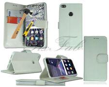 Fundas con tapa Para Huawei P8 lite color principal blanco para teléfonos móviles y PDAs