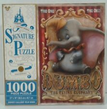 Disney Parks Signature Puzzle Dumbo 75TH Anniversary 1000 Pieces