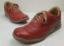 Cole Haan Air 12 M Conner Red Leather Shoes Lace-Up Casual Oxford Sneaker
