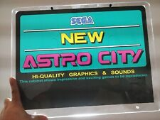 ART for SEGA New Astro City top marquee