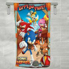 New Bath Towel Sonic Boom Beach Towel Hand Towel Gift