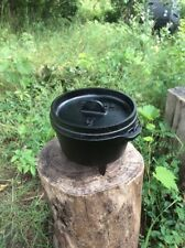 Lodge Cast Iron 1 Qt Camp Dutch Oven - Rare - No longer in production