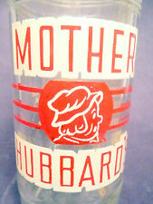vintage ACL Soda Pop Bottle:  MOTHER HUBBARD'S of BEAVER FALLS, PA - 10 oz ACL